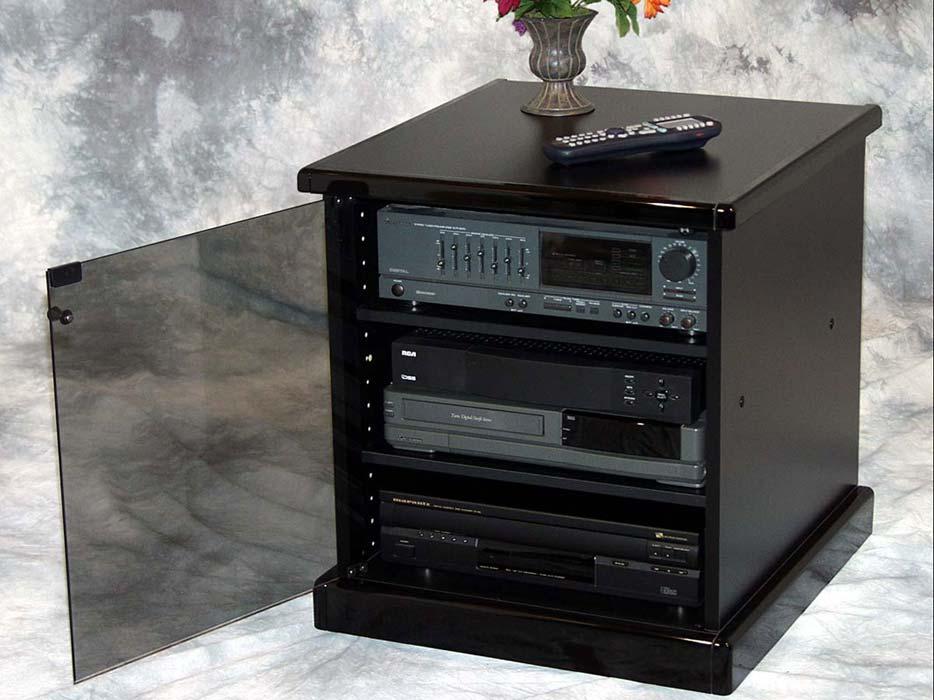 Munari M-60 Small Black Audio Cabinet