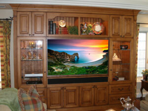 Built-In Wall Unit Furniture Modification - After Photo
