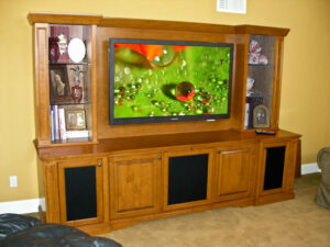 Castleton Wall Unit with Lighted Display Area