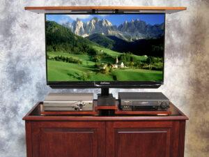 Phoenix TV Lift with Component Shelf
