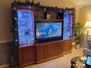 CWU-6 Custom Wall Unit for display and home theater